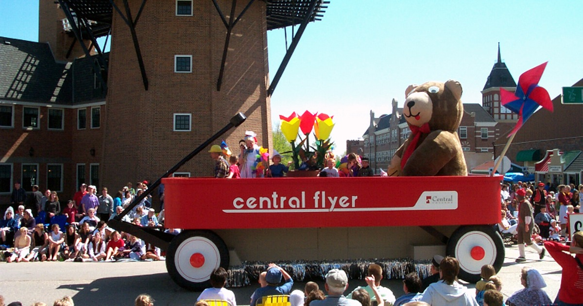Central College Tulip Time Float